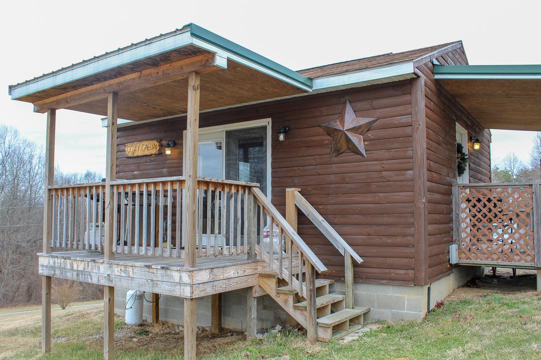 Cozy Cabin Entrance