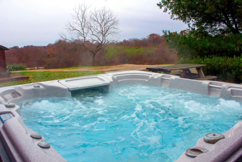 Fullbrooks Cabin Hot Tub