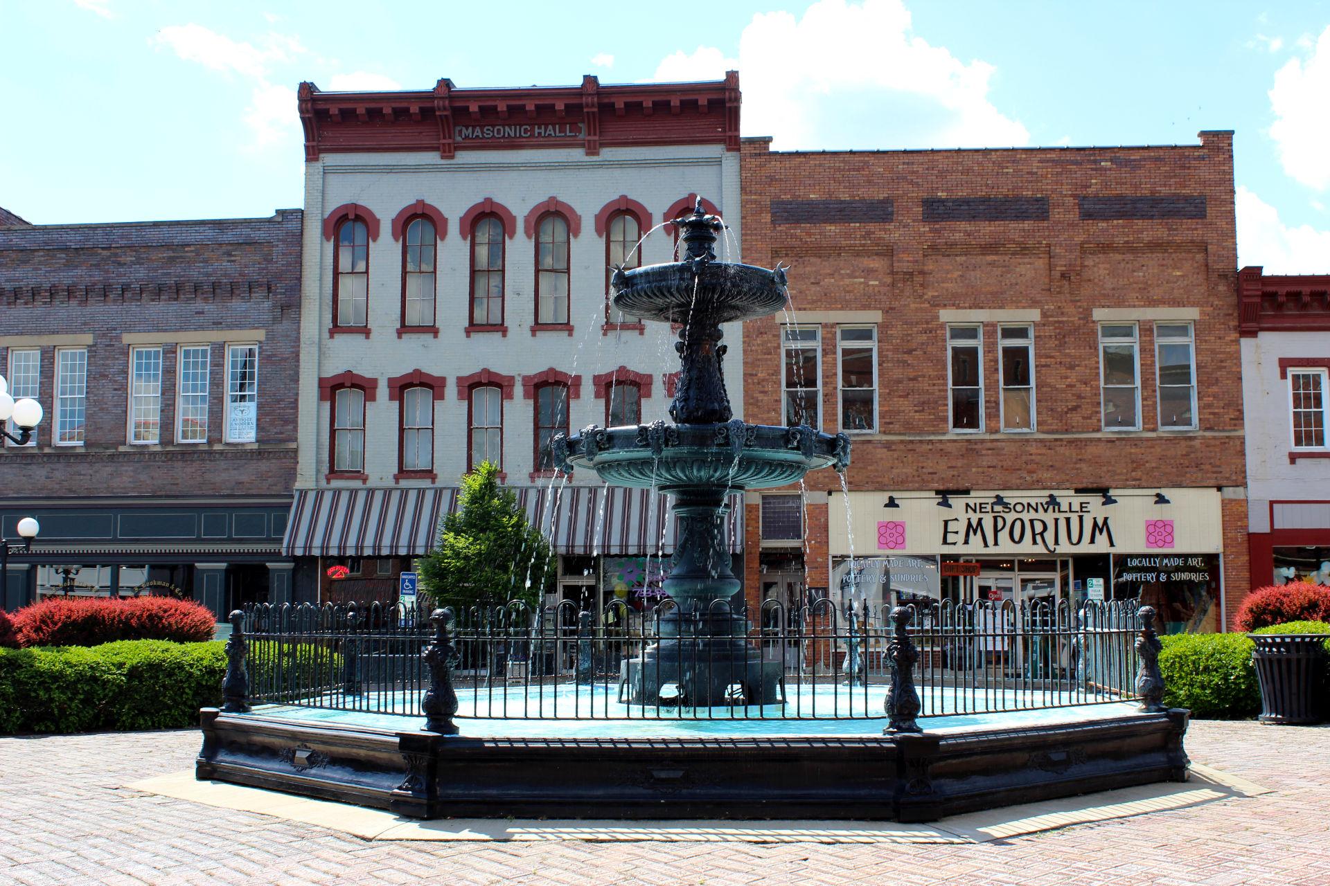 Nelsonville Square Hocking HIlls