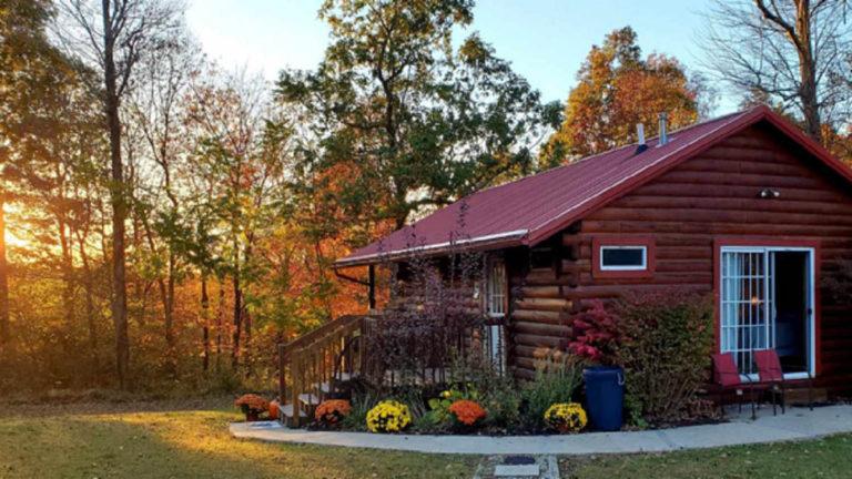 Prairie Rose Cabin in Fall