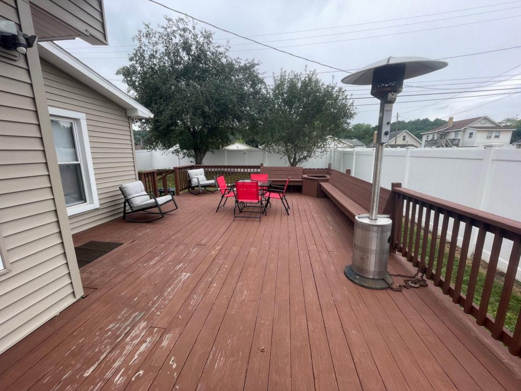 back deck Starbrick Bungalow